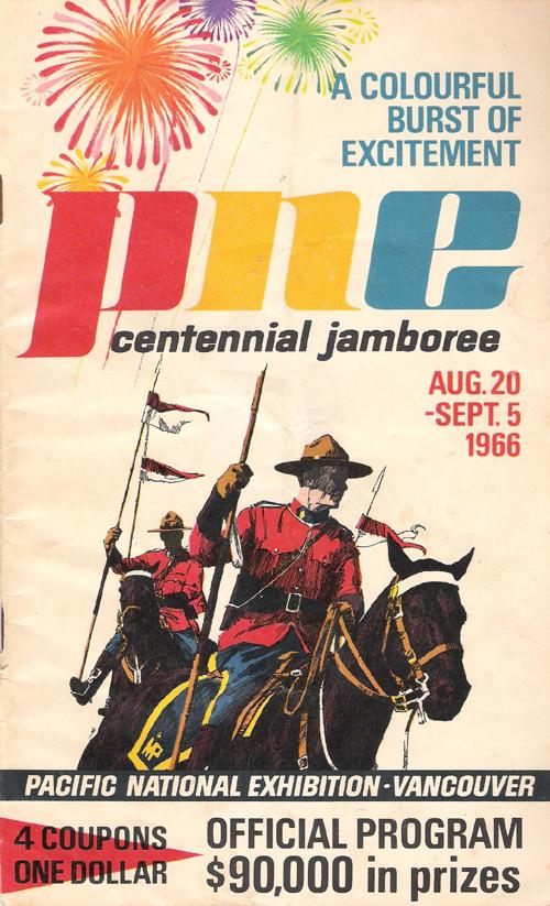 PNE Centennial Jamboree - Vancouver 1966
